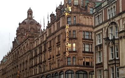 La Sphère dans le célèbre magasin de luxe Harrods