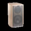 Antigua MC170 speaker in light oak, side view